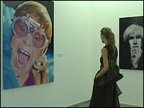 Elton John photo exhibition, Kiev