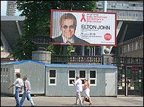 Elton John poster, Kiev