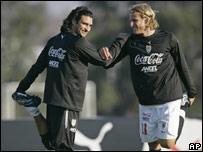 Carlos Bueno y Diego Forl�n
