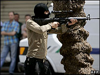 Fatah gunman in Nablus