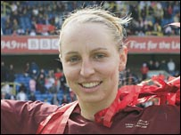 England and Arsenal Ladies captain Faye White
