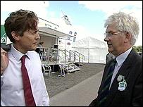 Ben Bradshaw and Gordon Tully