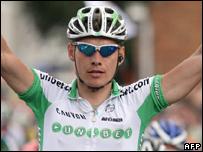 Unibet team rider Gorik Gardeyn
