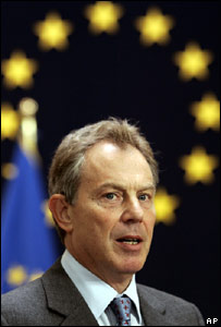 Prime Minster Tony Blair
