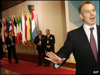 Tony Blair at the EU