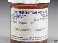 Presley's prescription bottle