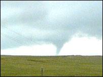 Tornado near Alston