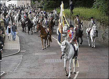 Selkirk Common Riding - Picture by Dougie Johnston
