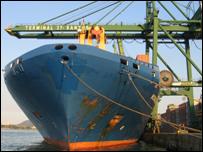 A Brazilian shipyard