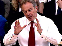 Tony Blair at the liaison committee