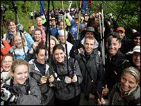 Caledonian Challenge participants
