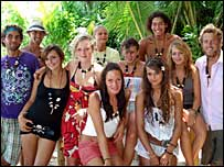 Contestants on reality series Shipwrecked
