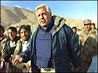 John Simpson in Kabul