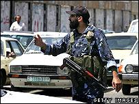Hamas police