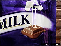 Cadbury's chocolate bar