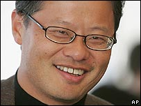 Jerry Yang, Yahoo's new chief executive