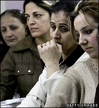 Iraqi refugees in Damascus
