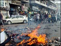 Protests in Karachi, 18 June 2007