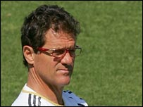 Real Madrid coach Fabio Capello