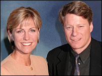 Jill Dando and Nick Ross