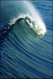 Ocean wave (Image: Eyewire)