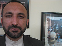 Afghan Education Minister Mohammad Haneef Atmar