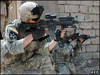 US troops in Baquba, Iraq. File photo