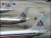 American Airlines planes (archive)