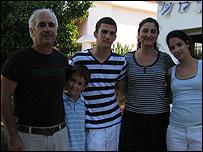 Ami Zinaty and family