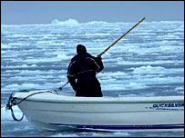 Arctic harpoon
