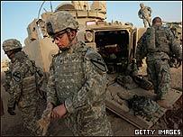 Fuerzas estadounidenses en Irak
