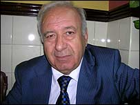 Hunain al-Qaddo, chairman of the Iraqi Minorities Council