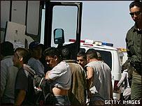 Inmigrantes ilegales detenidos en Arizona, Estados Unidos
