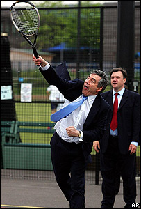 Gordon Brown proving that he is not a man for spin?