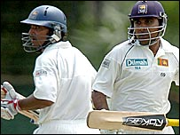 Kumar Sangakkara and Mahela Jayawardene