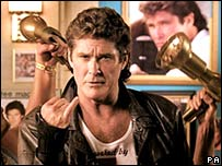 A Pipex advertising campaign starring David Hasselhoff