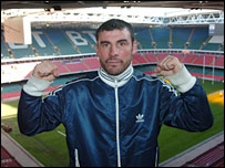 Joe Calzaghe hopes to get 60,000 fans in the Millennium Stadium