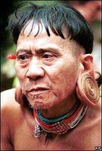A member of the Penan tribe in Sarawak