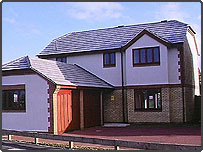A new detached house