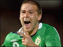 NI striker David Healy