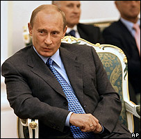 Vlad�mir Putin, presidente de Rusia