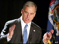 Howard Dean (file picture, Jan 2004)