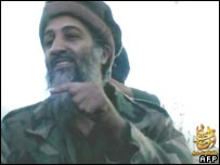 Osama Bin Laden (image courtesy of IntelCenter)