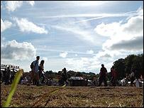 The festival on Saturday