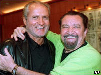 Gianni Versace and Maurice Bejart