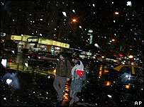 Neva en Buenos Aires, 9 de julio de 2007