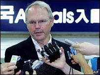 US Assistant Secretary of State Christopher Hill