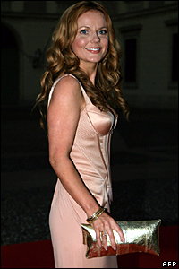 Singer Geri Halliwell