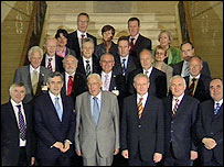 The British-Irish council is meeting at Stormont
