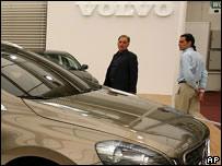 Sala de ventas de Volvo